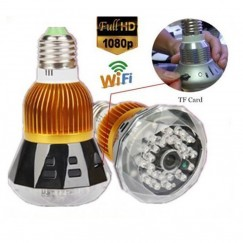 ΛΑΜΠΑ ΚΡΥΦΗ ΚΑΜΕΡΑ WIFI 1080P BULB CCTV – HC5336 – OEM