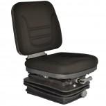 Κάθισμα 380mm φάρδος με γλυσιέρα,αμορτισέρ, ελατήρια και ρύθμιση ύψους - Ίσια βάση με φυσούνα