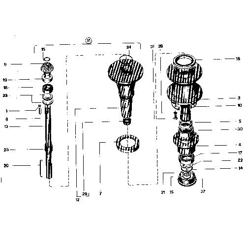 Δαχτυλίδι κάθετου άξονα (Νο 25)