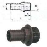 Ρακόρ ίσιο με πάσο 1''x32mm