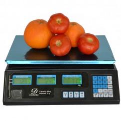 Επιτραπέζια ηλεκτρονική ζυγαριά 40kg