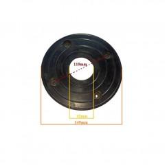 Φλάντζα ελαστική Φ40 (4 τρύπες)