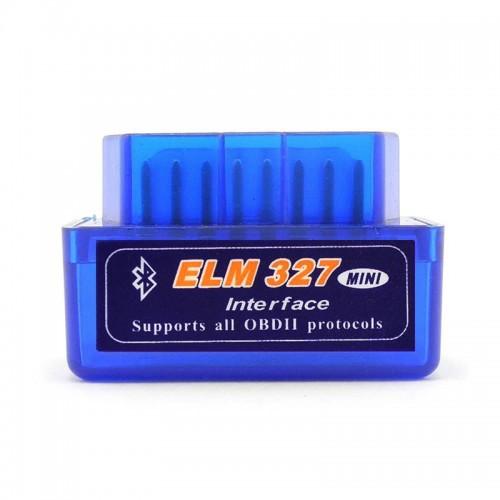 Super Mini ELM327 Bluetooth OBD2 V2.1 Car Diagnostic Interface Tool
