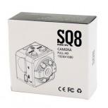 Super Mini DV Full HD 1080p Κάμερα Καταγραφικό 12MP με Ανίχνευση Κίνησης SQ8 SpyCam -OEM