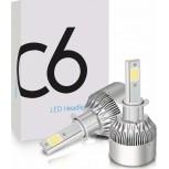 Φώτα αυτοκινήτου LED Kit H3 36W 3800LM 6000Κ – C6