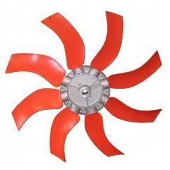Φτερωτή τουρμπίνας κομπλέ με 8 πτερύγια - Διάμετρος 800mm