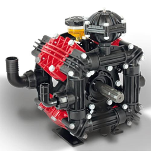 ZETA 170 1C μεμβρανοφόρα με έναν άξονα 20ATM και παροχή 170 λίτρα/λεπτό